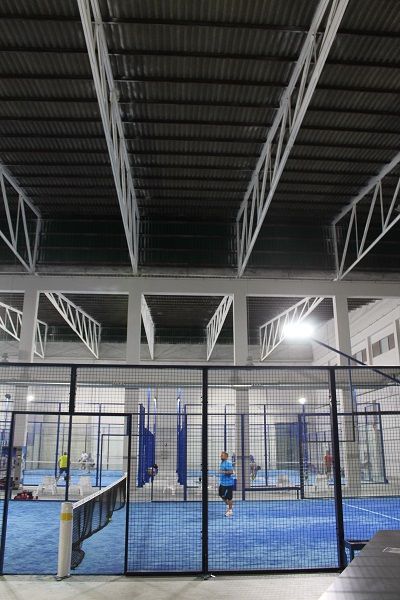 13 metros de áltura libre